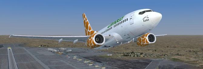Zambezi Airlines Boeing 737-600