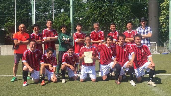 2016.6.26 平成28年度 杉並シニアリーグ 準優勝のSHA49ersメンバー