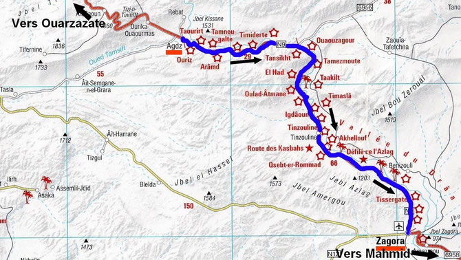 La route des Kasbahs