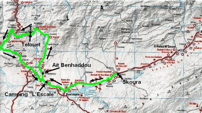 De Skoura à Ouarzazate