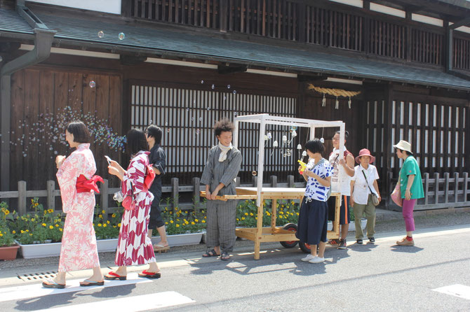 きそがわ日和ワークショップ作品 2013(中山道太田宿界隈)