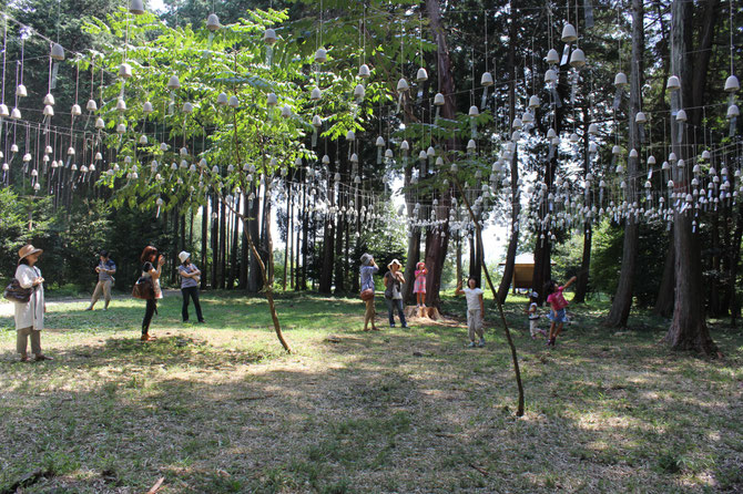 森の音・川の音 渡辺泰幸展 2013(みのかも文化の森)