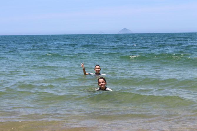 36°c dans l'air, 30 dans l'eau !!