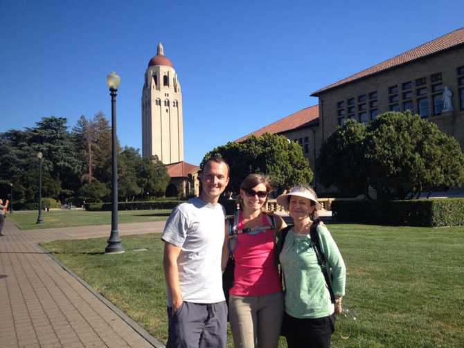 Absorbing the intelligence of Stanford students