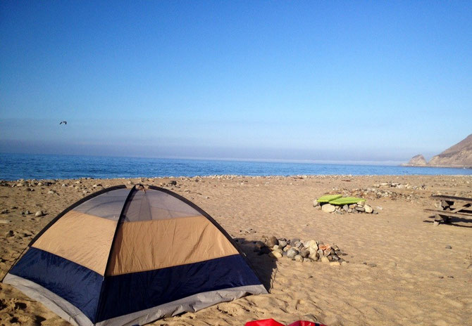 Point Mugu campsite