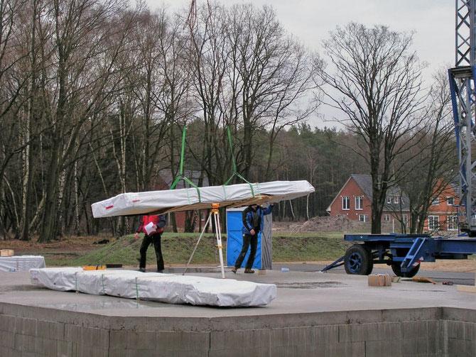 Blockhausbau - Materilallieferung - Bausatz - Rohbauhaus - Ausbauhaus - Mitbauhaus - Eigenleistungen im Holzbau