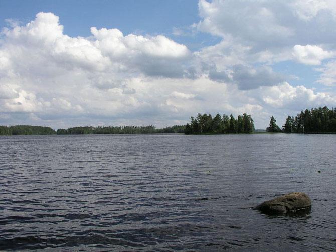 Finnland blockhaus kuusamo