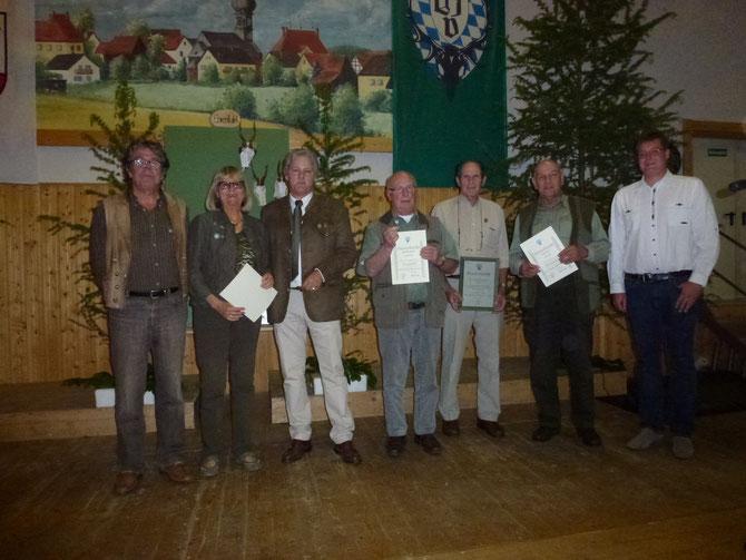 Mitglieder-Ehrung 2014