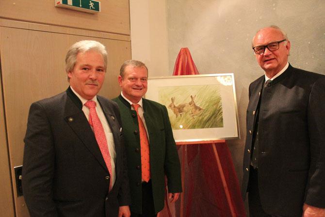 von li.: Ralph Keller, Manfred Ländner und Dr. Jörg Mangold