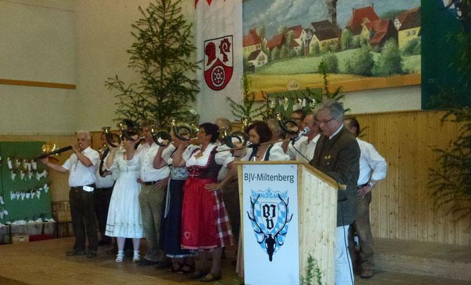 Jagdhornbläserkorps BJV-MIL