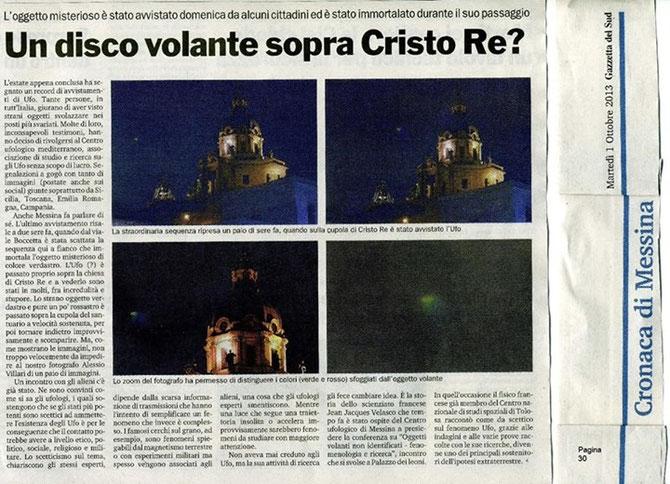 Dal profilo facebook del CISU Sicilia