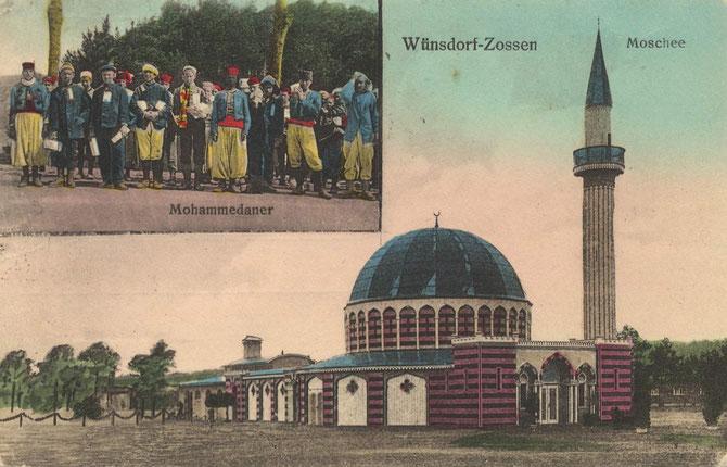 Die Moschee des Kriegsgefangenenlagers