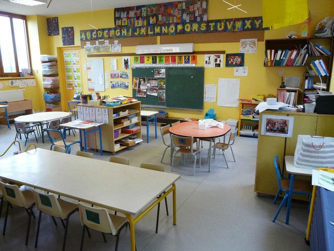 Salle de classe de Lantenay
