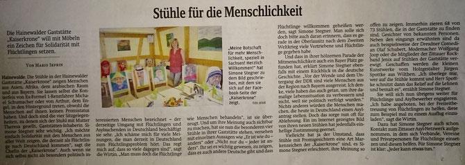 Sächsische Zeitung 05.08.2015