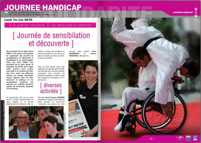 Extrait du France Sport Police (magazine de la FSPN) numéro 79, téléchargeable ci-dessous.