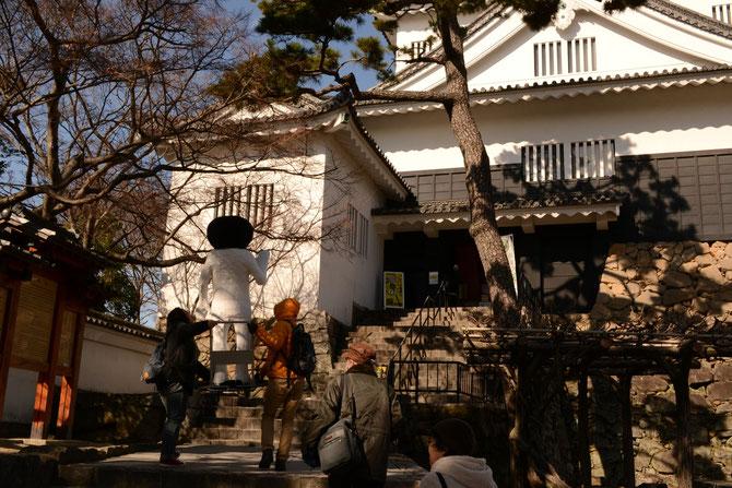 再び岡崎城へ