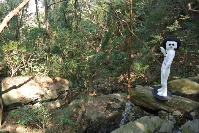 駒ヶ滝にて