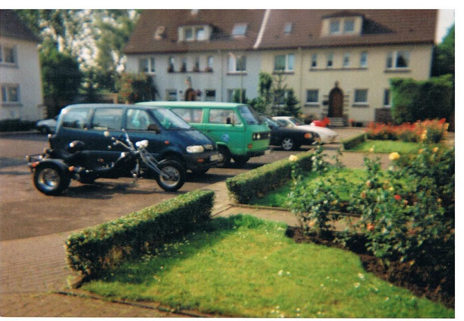Mein grüner Taubenbulli & die neuen Fahrzeuge.