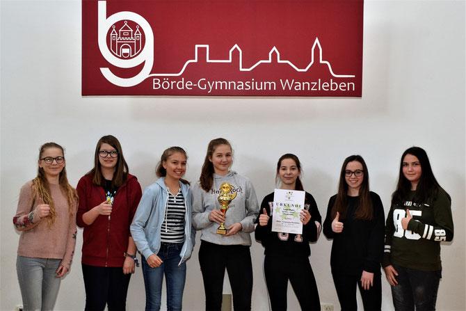 Unsere Siegerinnen von JtfO Tischtennis