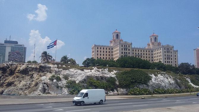 Hotel Nacional en La Habana, construido en 1930 al estilo neocolonial.