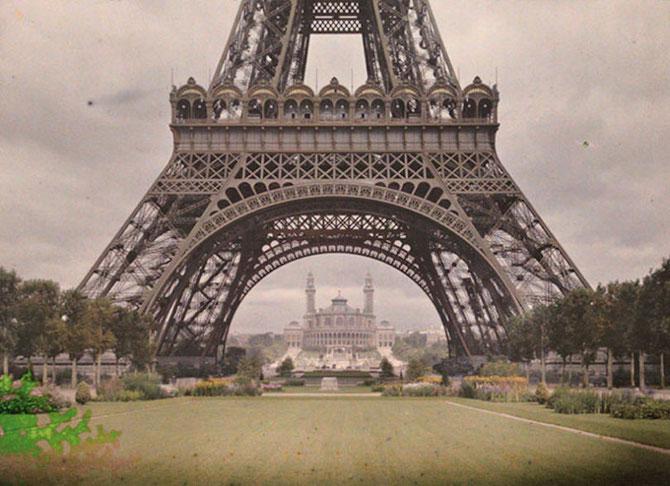 Tour Eiffel, musée Albert Kahn