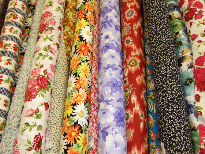 Printed Cottons, Haberdashery, Wool, polyester at Ealing Fabrics London