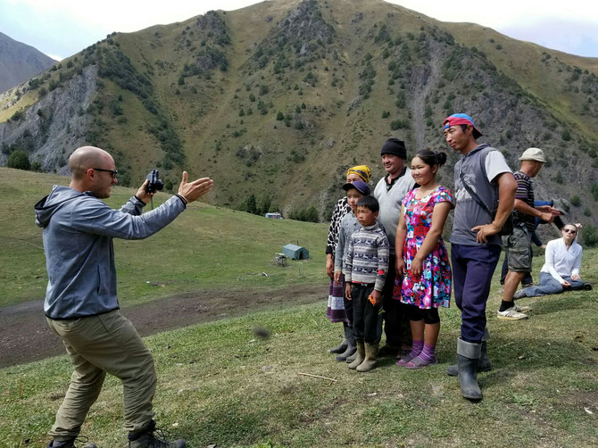 Meeting Nomads in Southern Kyrgyzstan