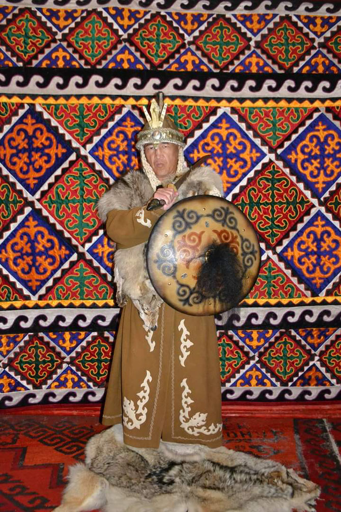kyrgyz warrior
