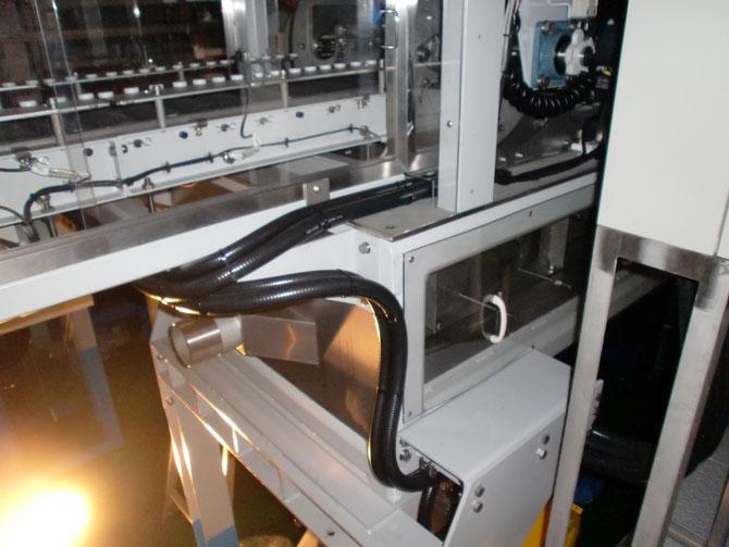 搬送コンベアーのマシンフレキを使用しての電機配線工事です。