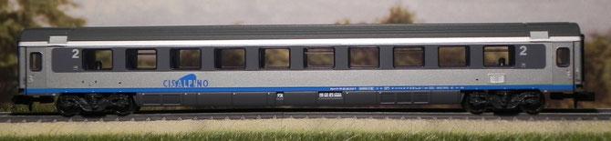 Seconda classe ex SBB - Minitrix - 11629