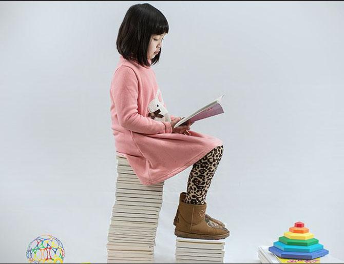 Lesen in der Kindheit  bewirkt Bildung und Wissen