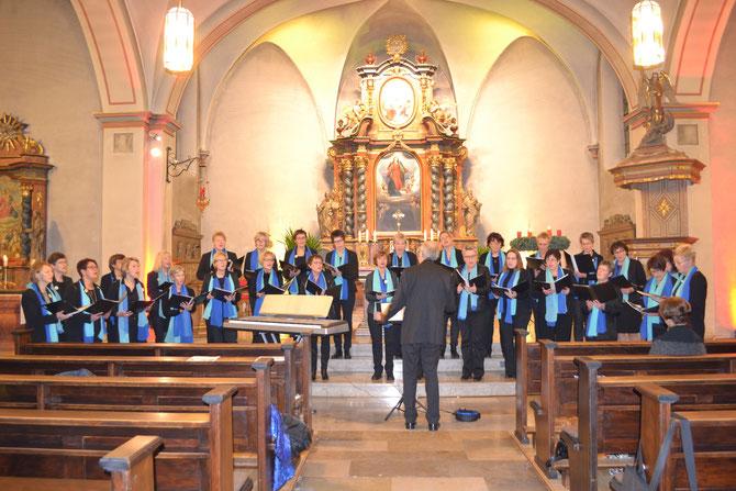 Weihnachten 2014 in der St. Simon und Judas Thaddäus Kirche zu Etteln