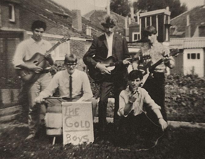 Met o.a. Theo Eijkenboom, Henk Gort,  André Groote en Henk Groote 1958