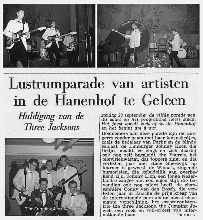 Limburgs Dagblad 19-09-1962,  foto's Pierre Bernardi
