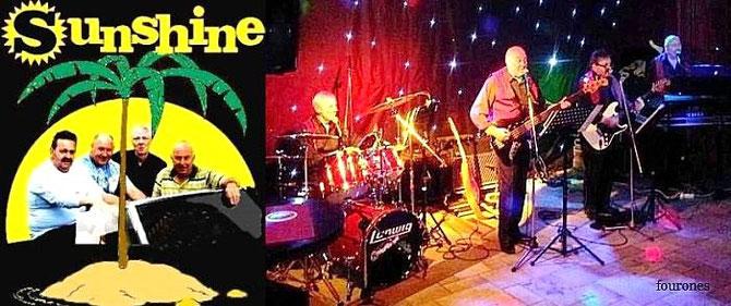 Een optreden van Sunshine is pure nostalgie, het bijwonen van ervan is een groot genot !