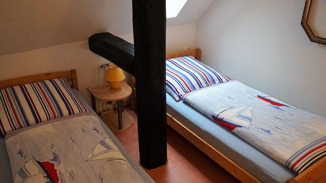 2.Schlafzimmer in der alten Räucherkammer
