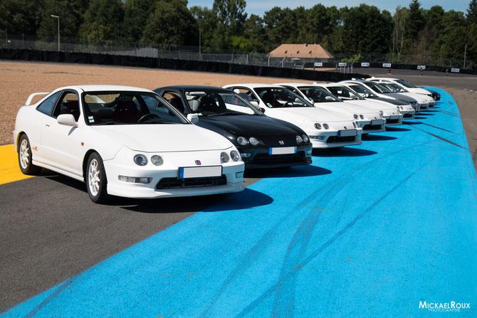 voiture Honda integra typeR Dc2 Dc5 Le Mans