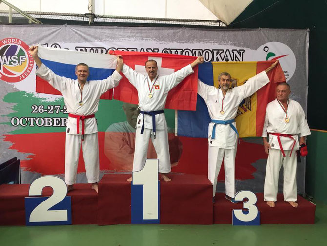 Raia Sensei Europa Meister 2018 Kata und Kumite World Shotokan Federation (W.S.F.)