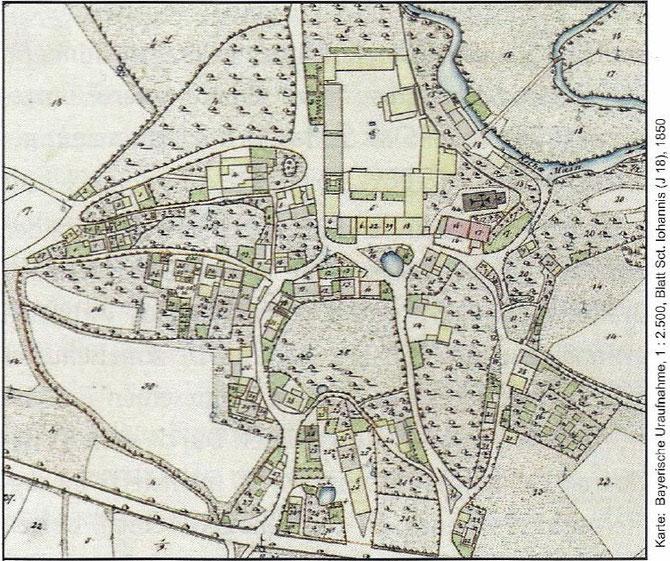 Plan aus H. Popp, Bayreuth - neu entdeckt