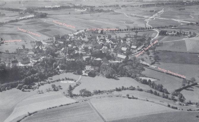 Luftbild aus dem Jahr 1930  - mit Klick vergrößern