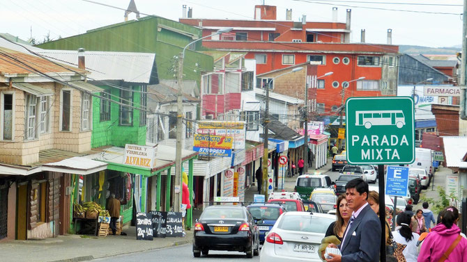 Kaum zu übersehen, ist Chiloe eine der ärmeren Ecken Chiles.