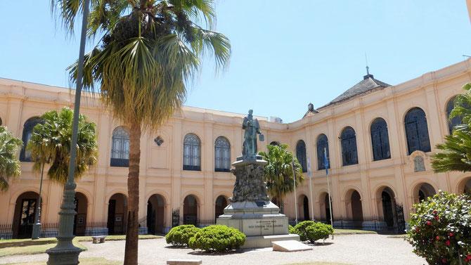 Unterwegs im historischen Zentrum von Cordoba.