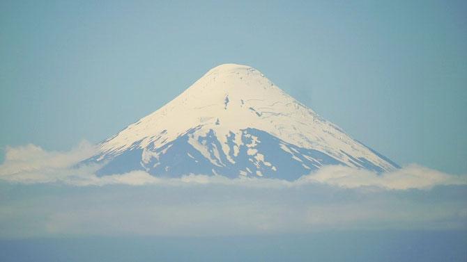 Ein wahres Prachtexemplar ist dieser Vulkan.