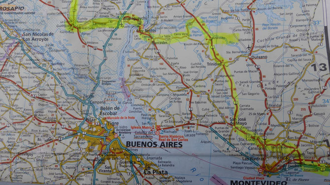 Auf dem Weg Richtung Cordoba.