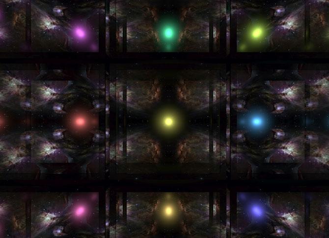量子論的スポットライトイメージ