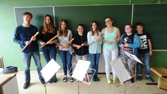 Blockflöte, Oboe, Fagott – Wolfgang Turk