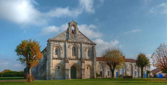 Le prieuré, façade Ouest