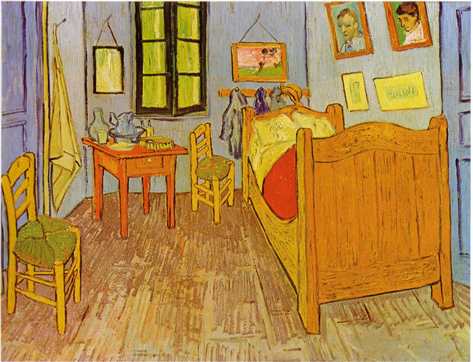 La Chambre à Arles de Van Gogh