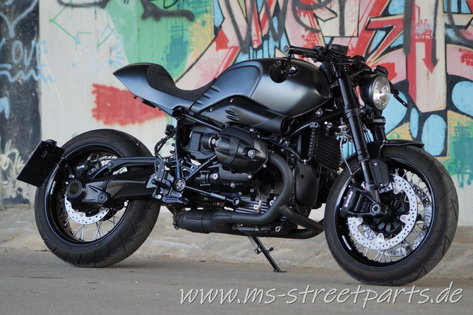 BMW R nineT Umbau Shorty R9T Umbau Customize MS StreetParts Wenzenbach Regensburg geiles Bike hot bike cafe racer heck