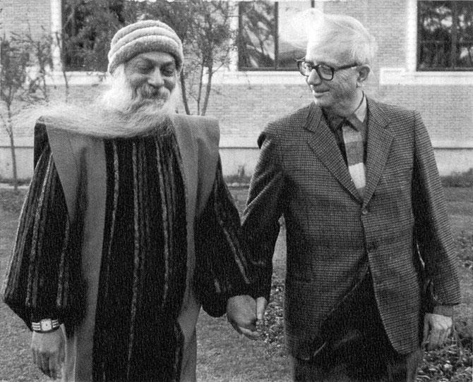 Osho con Enzo Biagi,  12 gennaio 1986, Katmandu (Nepal)
